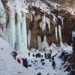 雲竜渓谷 氷瀑の渓谷 ~ ピストン 雪山 日帰り登山 ~