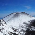 浅間山 黒斑山から眺める浅間山プリン ~ 車坂峠 ピストン 雪山 日帰り登山 ~